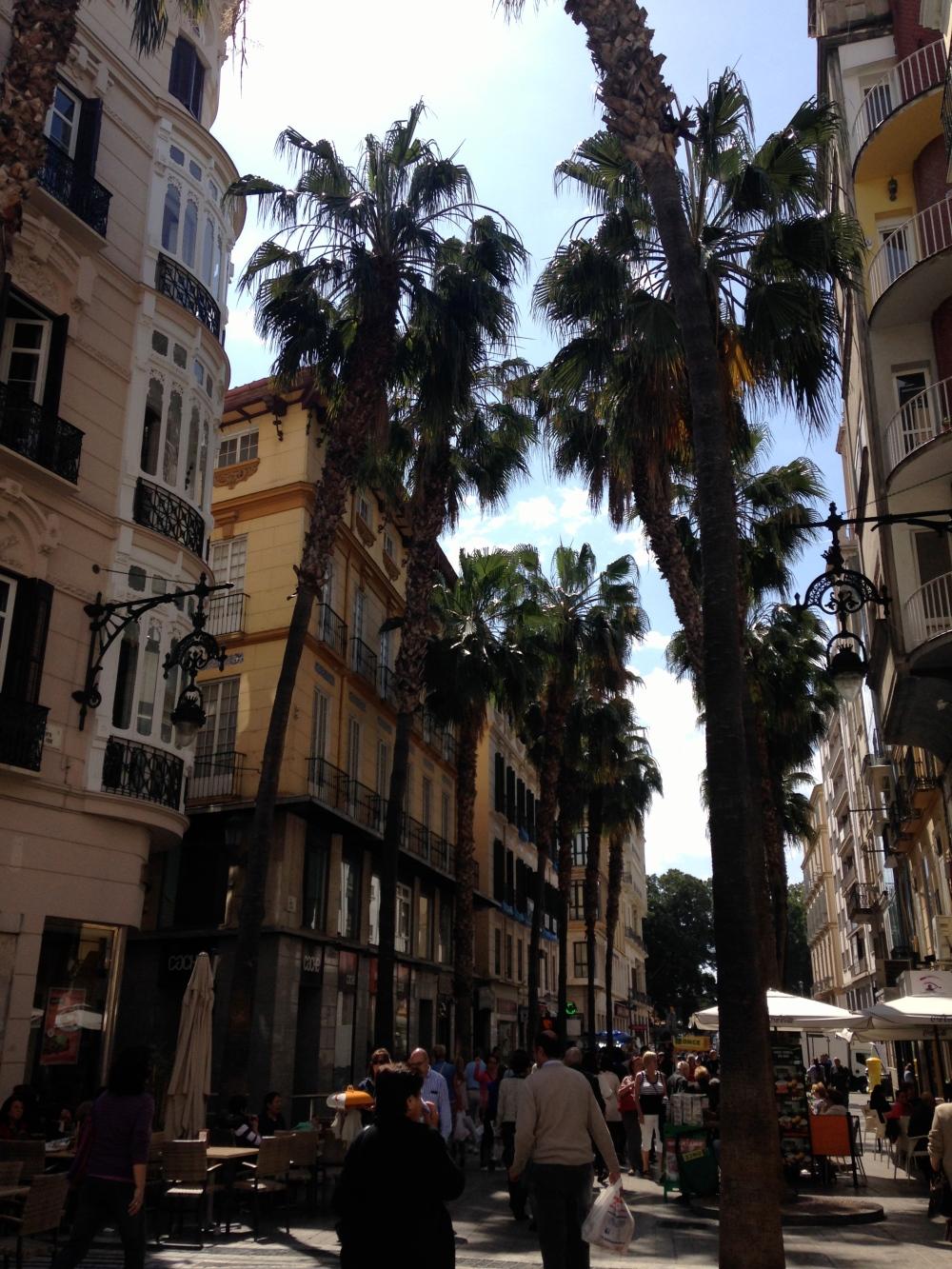 Streets of Malaga